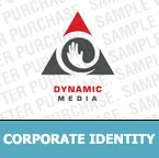 Media Corporate Identity Template 6086