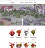 Flowers PrestaShop Template 60010