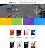 Software PrestaShop Template 60012