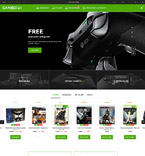 Games PrestaShop Template 60014