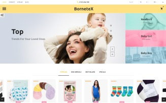 BorneteX - Maternity Store PrestaShop Theme
