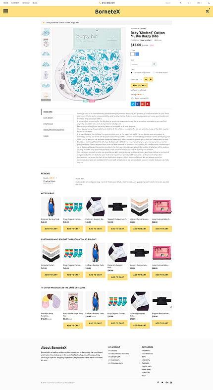 ADOBE Photoshop Template 60018 Home Page Screenshot