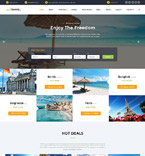 Travel Website  Template 60026