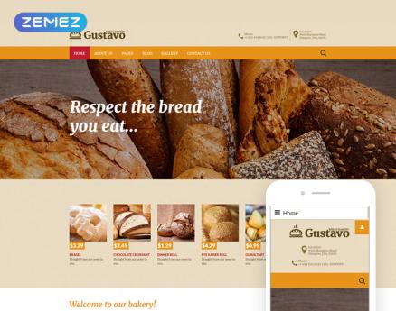 Food & Drink Joomla Template