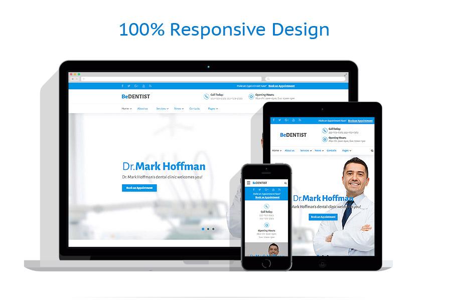 Modèles HTML5 Médical #60036