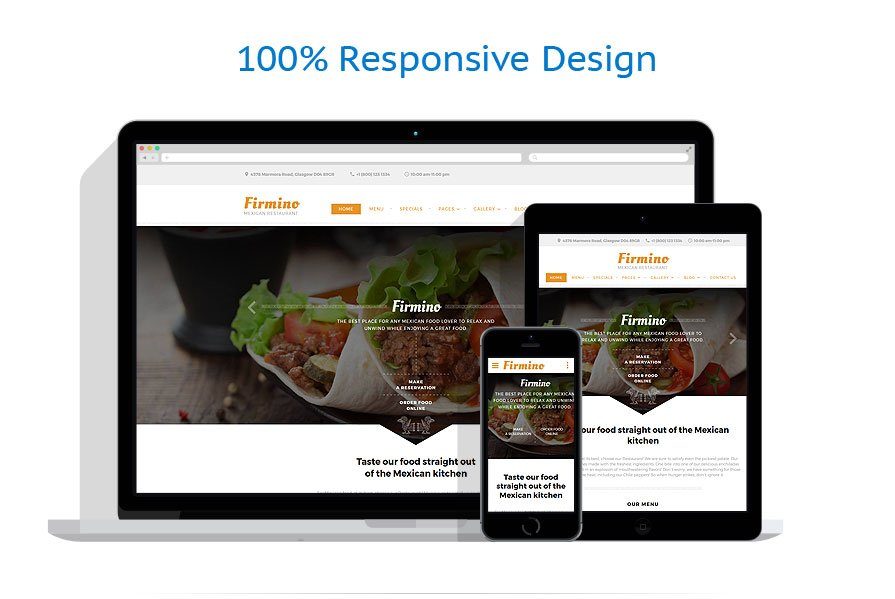 Modèles HTML5 Café et Restaurant #60037