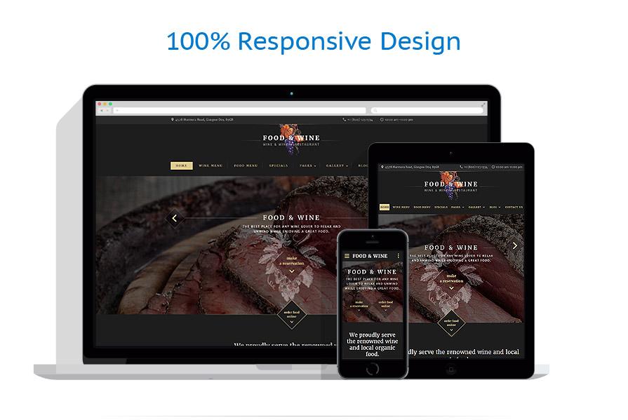 Modèles HTML5 Café et Restaurant #60038