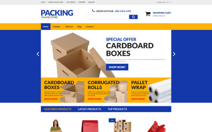 Packing VirtueMart Template