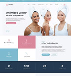 Beauty Website  Template 60044
