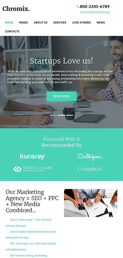 WordPress Theme/Template 60046 Main Page Screenshot