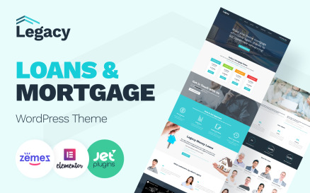 Legacy - Estate and Mortgage WordPress Theme