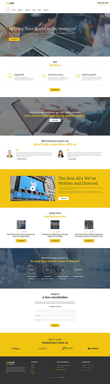 WordPress Theme/Template 60049 Main Page Screenshot