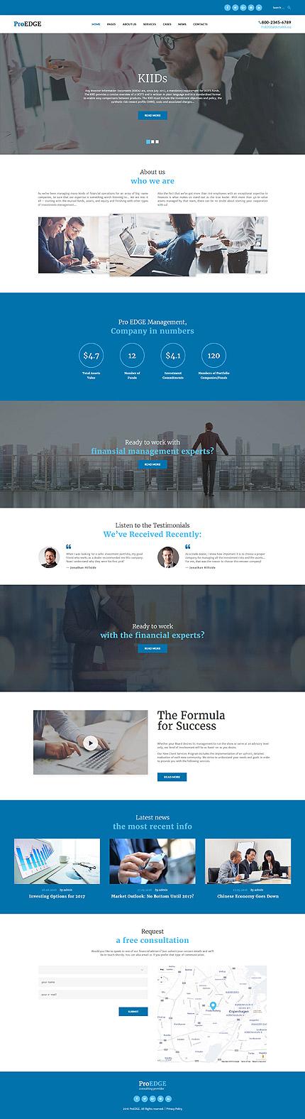WordPress Theme/Template 60050 Main Page Screenshot