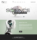 Science WordPress Template 60052