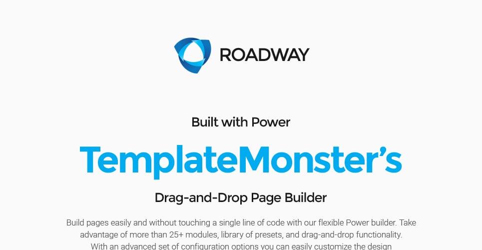 Roadway - Logistics & Transportation Services WordPress Theme