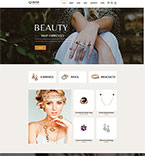 Jewelry Website  Template 60076