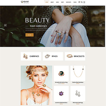 Preview image of DiamondShop - Beautiful Jewelry Responsive