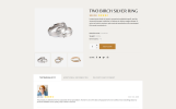 """Olimp - Luxury Jewelry Online Store Multipage HTML"" - адаптивний Шаблон сайту"