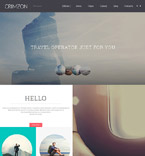 Travel Joomla  Template 60078