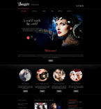 Entertainment Joomla  Template 60082