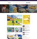 Games WordPress Template 60087