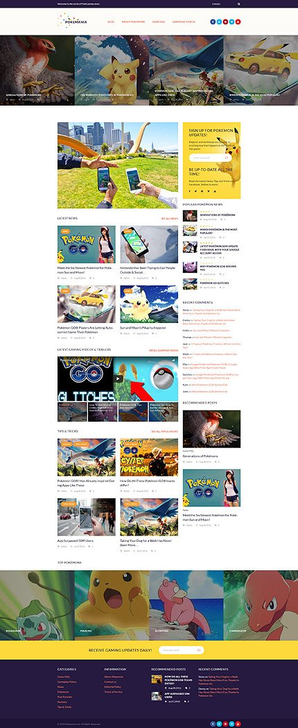 WordPress Theme/Template 60087 Main Page Screenshot