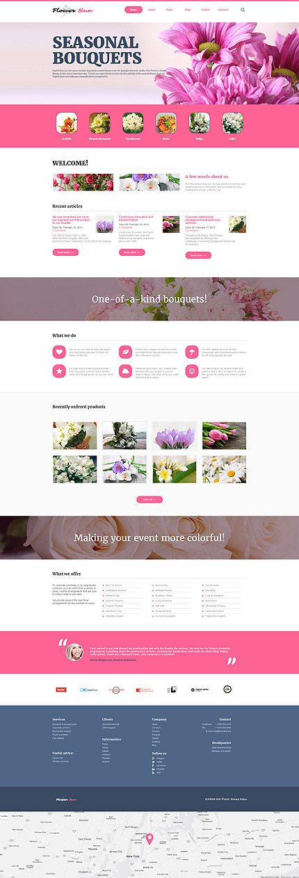 Joomla Theme/Template 60091 Main Page Screenshot