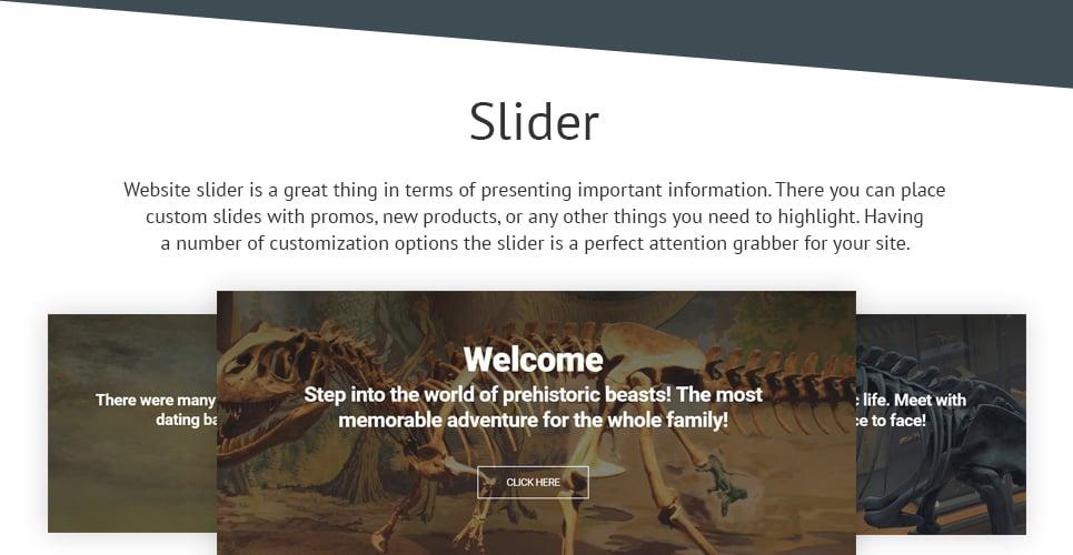 Dinosaur Museum Joomla Template