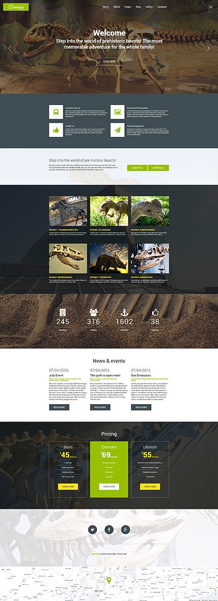 Website Template #60092