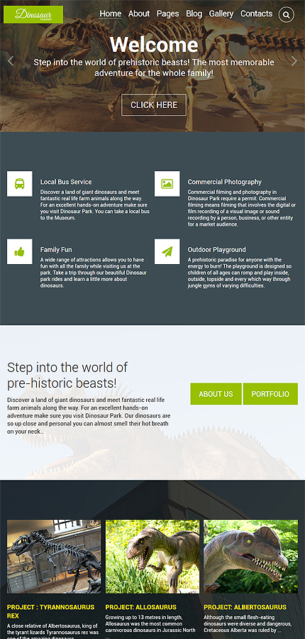 Joomla Theme/Template 60092 Main Page Screenshot