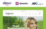 Responsivt Organica - Organic Food, Cosmetics and Bio Active Nutrition WooCommerce-tema