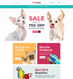 Animals & Pets WooCommerce Template 60094