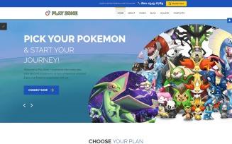 Games Responsive Joomla Template