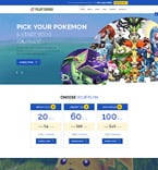Games Joomla  Template 60099