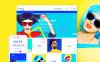 Адаптивний Shopify шаблон на тему окуляри New Screenshots BIG
