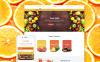Адаптивный Shopify шаблон №60086 на тему фрукты New Screenshots BIG