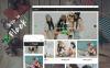 Адаптивный WooCommerce шаблон №60095 на тему мода New Screenshots BIG