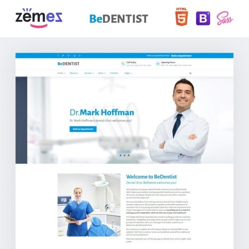 BeDentist - Website Template based on Bootstrap