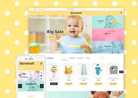 Maternity Store Prestashop