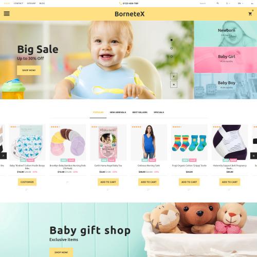 Bornetex  - PrestaShop Template based on Bootstrap