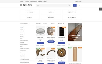 Buildex OpenCart Template
