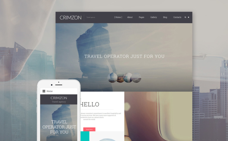 Crimzon Joomla Template New Screenshots BIG