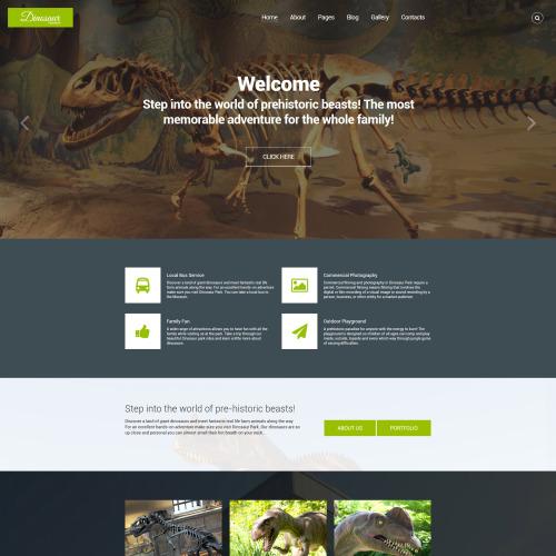 Dinosaur - Responsive Joomla! Template