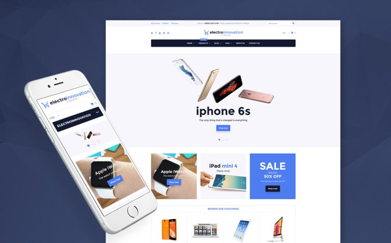 Electro Innovation Shopify Theme New Screenshots BIG
