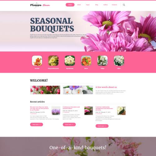 Flower Sun - Responsive Joomla! Template