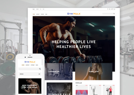 Gym Equipment Prestashop