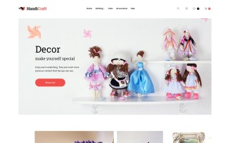 HandiCraft - Handmade Goods Shop Responsive Magento Theme
