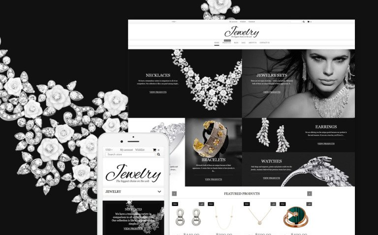 Jewelry Shopify Theme New Screenshots BIG