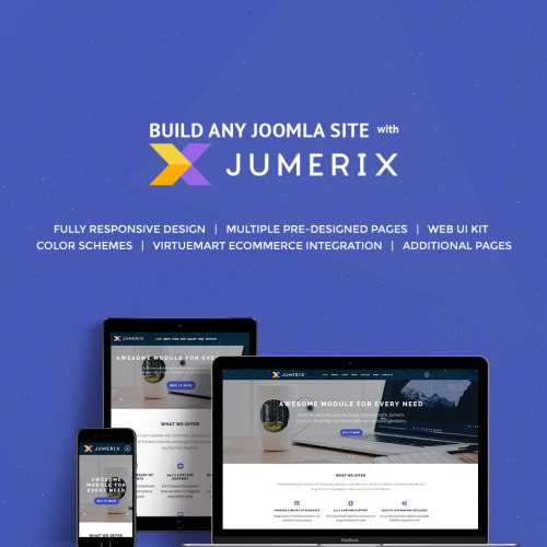 Jumerix - Multipurpose Joomla! Template based on Bootstrap