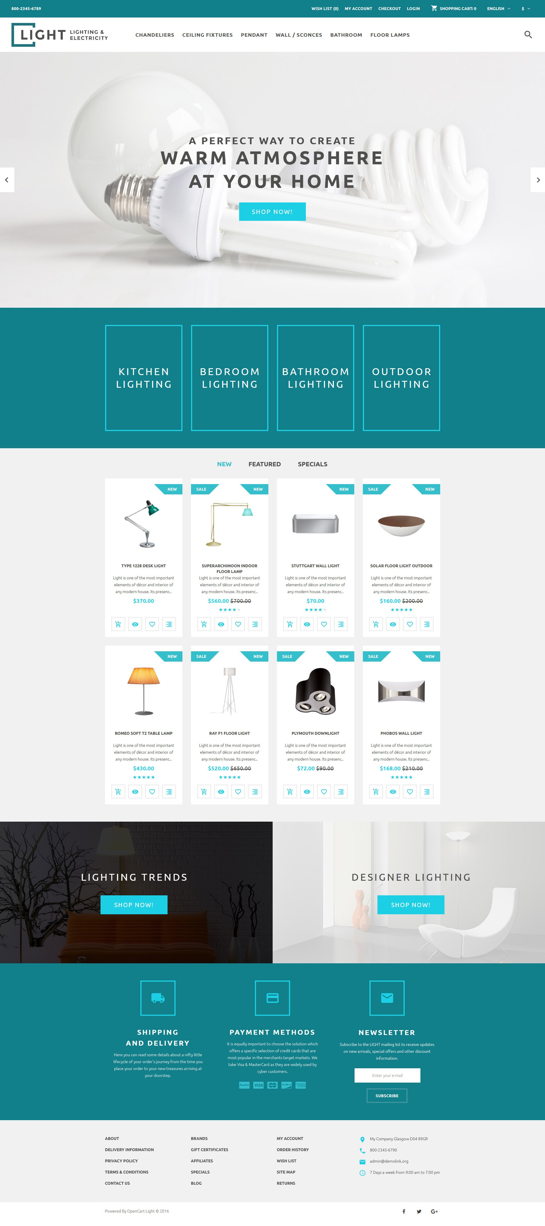 Light Company OpenCart Template 07eca00014bcc